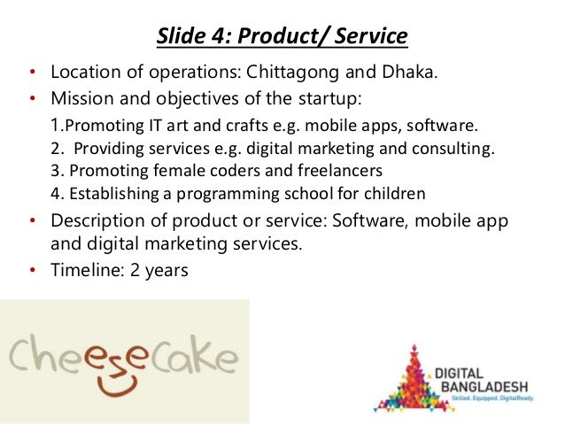 Startup Bangladesh-competition-pitch-deck-cheesecaketech