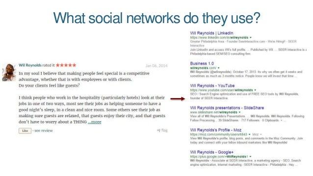 Where do they go on the web? Via Followerwonk