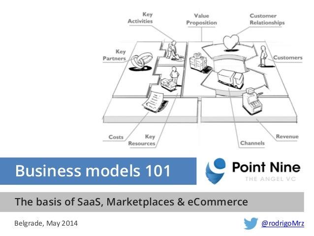 Business models 101 The basis of SaaS, Marketplaces & eCommerce @rodrigoMrzBelgrade, May 2014