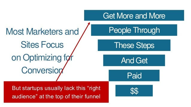 Most Marketers and Sites Focus on Optimizing for Conversion Get More and More People Through These Steps And Get Paid $$ A...