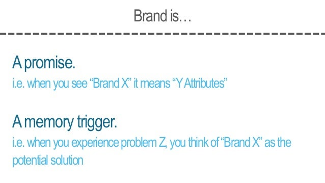 BrandMarketingis… Acodedmessage. Remindingyouofthebrand'sexistence Reinforcingthebrand'scolors,shapes,sounds,experiences,&...