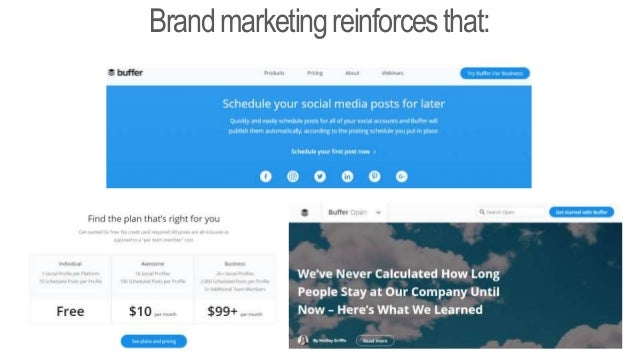 Beforeyoucanbrand,youneeda BrandPromise We provide… We evoke feelings… We remind you of… We share the values of… product/ ...