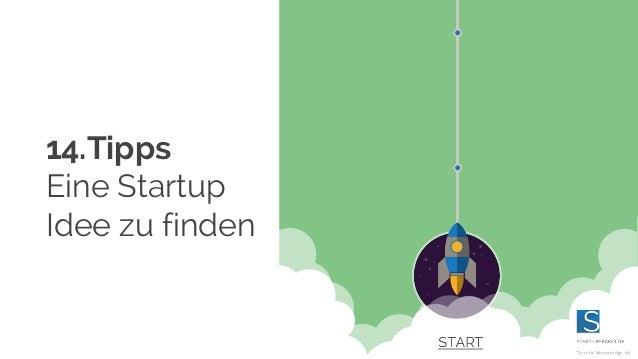14.Tipps Eine Startup Idee zu finden