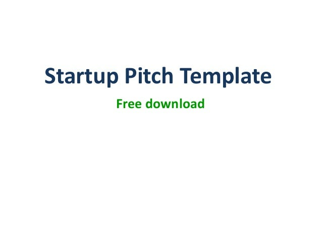 product startup pitch ppt template, Powerpoint templates