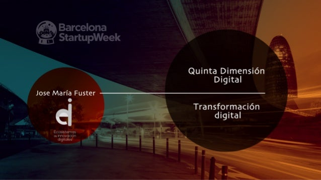La digitalización produce la emergencia de un espacio virtual en el que las personas y cosas están conectadas