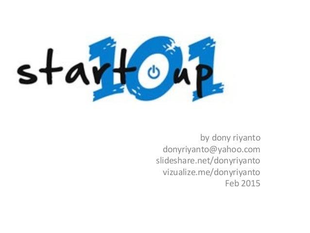 by dony riyanto donyriyanto@yahoo.com slideshare.net/donyriyanto vizualize.me/donyriyanto Feb 2015