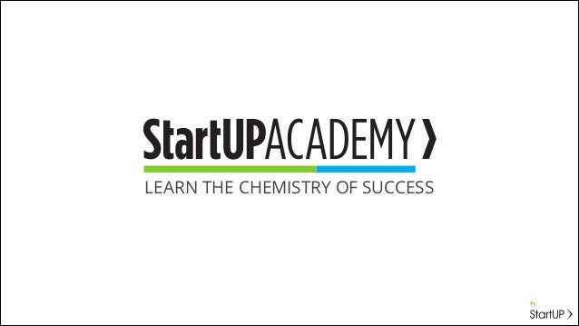 LEARN THE CHEMISTRY OF SUCCESS
