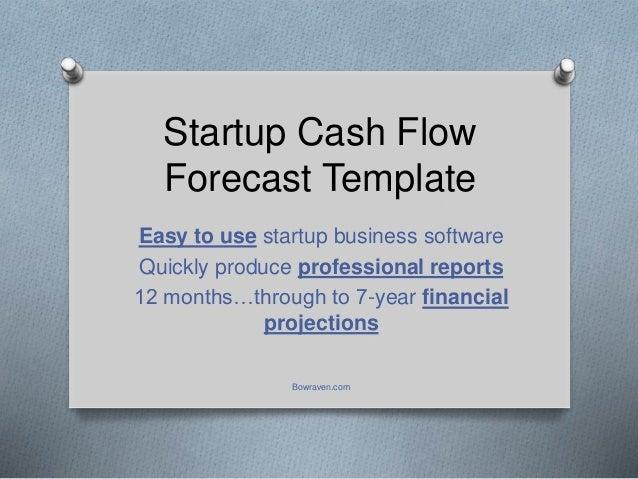 cash flow forecasts template