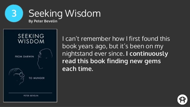 seeking wisdom from darwin to munger pdf download