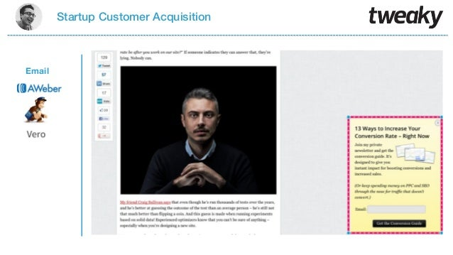 Startup Customer AcquisitionEmail
