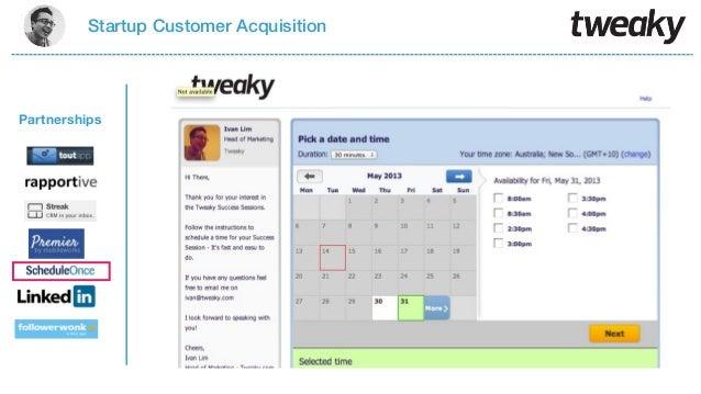 Startup Customer AcquisitionPartnerships