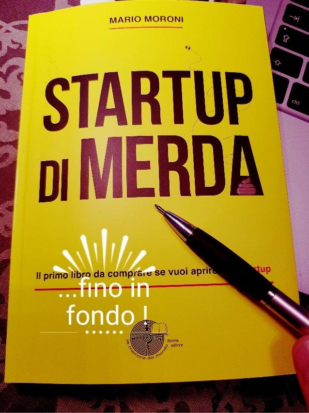 Startup di Merda recensione Giorgio Fatarella