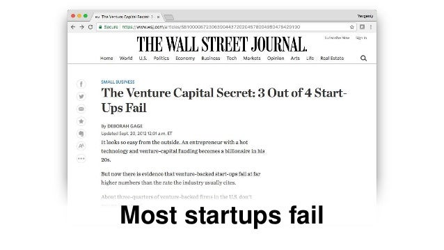 Startup DNA: the formula behind successful startups in Silicon Valley (updated May 5, 2017) Slide 3