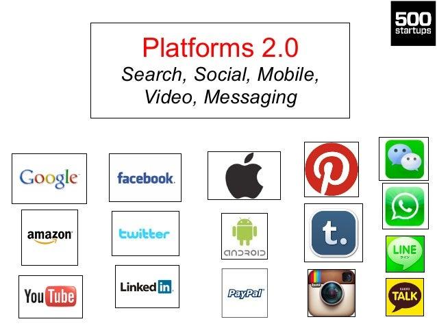 Platforms 2.0 Search, Social, Mobile, Video, Messaging