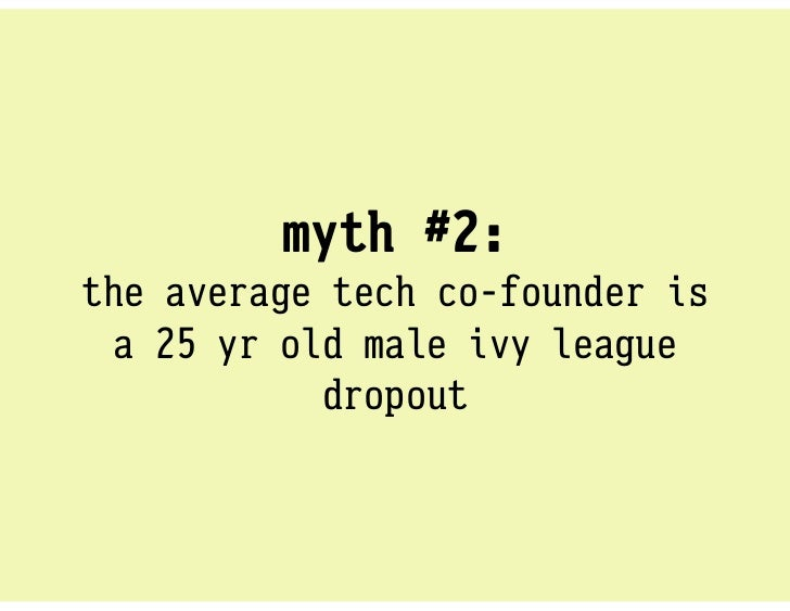 fact:   startup founders look a LOT like  themselves (and can come from ANY background). looking for patterns isthe antith...