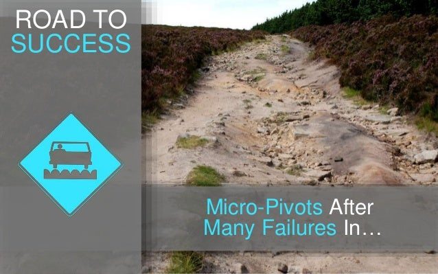 Micro-Pivots After Many Failures In… ROAD TO SUCCESS