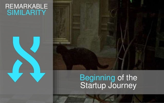 REMARKABLE SIMILARITY Beginning of the Startup Journey