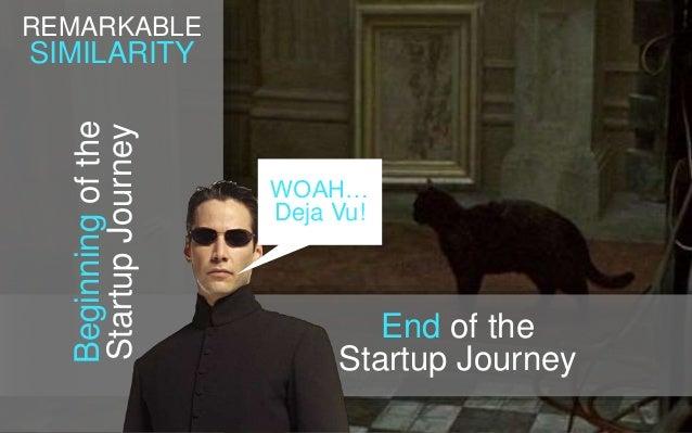 End of the Startup Journey Beginningofthe StartupJourney WOAH… Deja Vu! REMARKABLE SIMILARITY