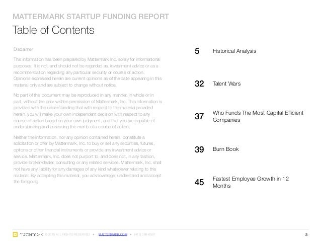 Startup Funding Report: Historical Analysis 2005 - 2014 Slide 3