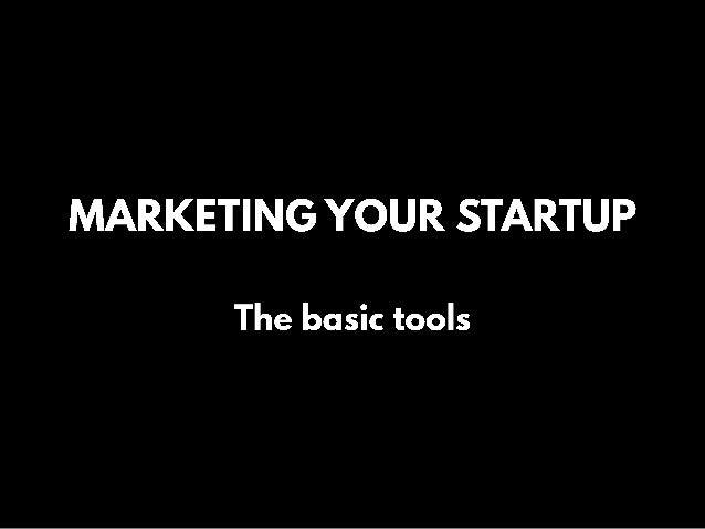 Marketing Your Startup Slide 2