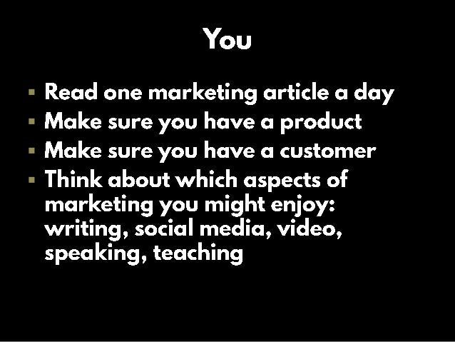 Marketing Your Startup Slide 3