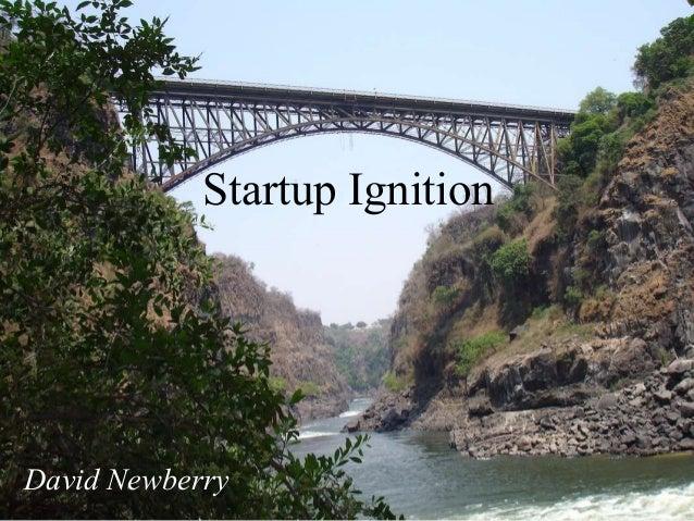 Startup Ignition David Newberry