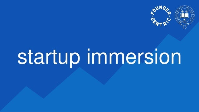 startup immersion