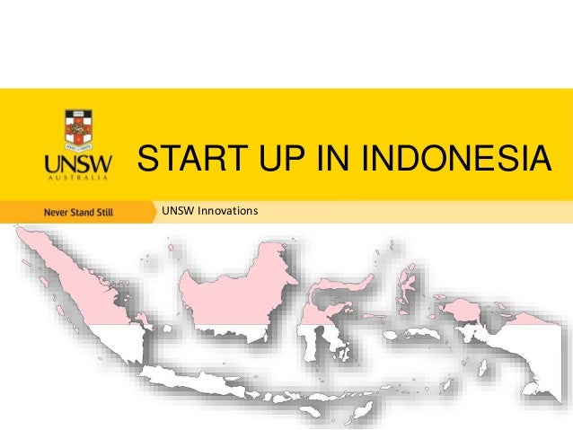 UNSW Innovations START UP IN INDONESIA