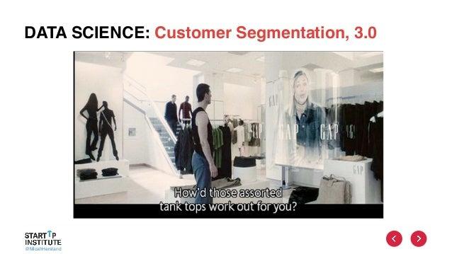 @MicahHerstand DATA SCIENCE: Customer Segmentation, 3.0