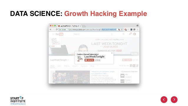 @MicahHerstand DATA SCIENCE: Growth Hacking Example