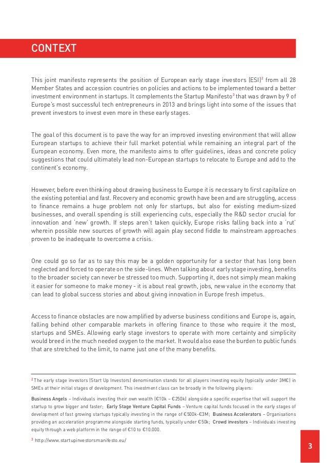 Startup Investors Manifesto Slide 3