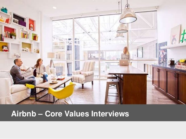 Airbnb – Core Values Interviews