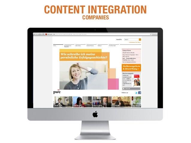 +25% More Traffic CONTENT INTEGRATION WEBSITES & SOCIAL MEDIA