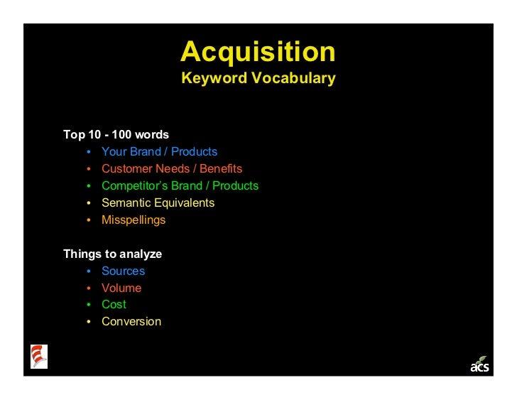 Startup Metrics 101: a Product & Marketing Workshop Slide 14