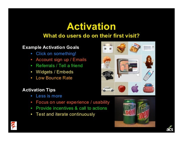Startup Metrics 101: a Product & Marketing Workshop Slide 18