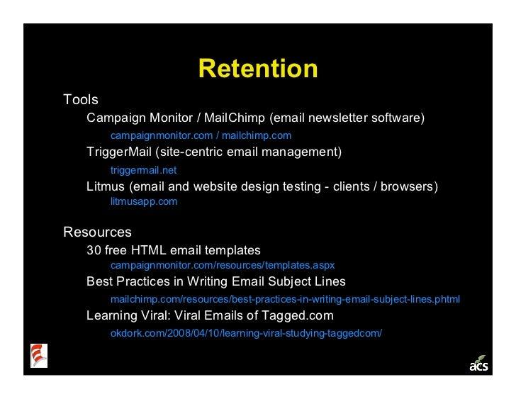 Startup Metrics 101: a Product & Marketing Workshop Slide 25