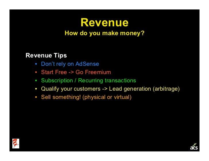 Startup Metrics 101: a Product & Marketing Workshop Slide 31