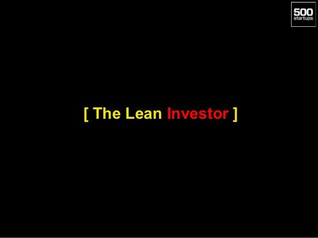 [ The Lean Investor ]