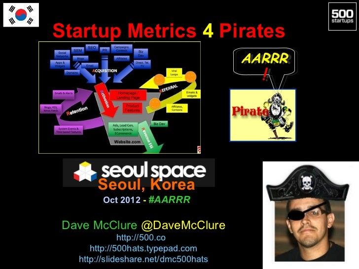 Startup Metrics 4 Pirates                                      AARRR                                      AARRR           ...