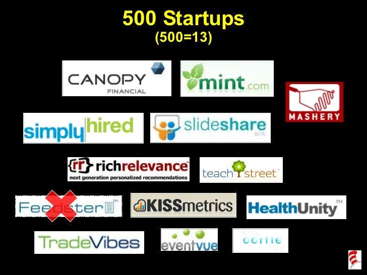 500 Startups (500=13)