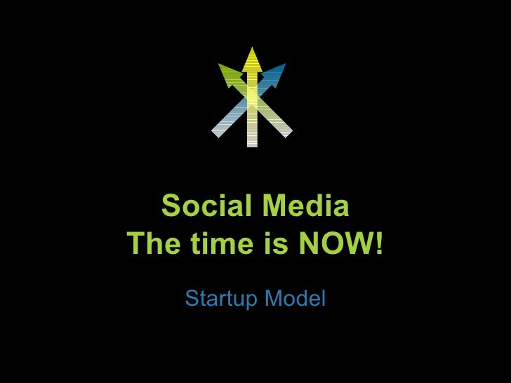 Social Media The time is NOW! Startup Model Presented by 3D Communications www.debidavisdriven.com