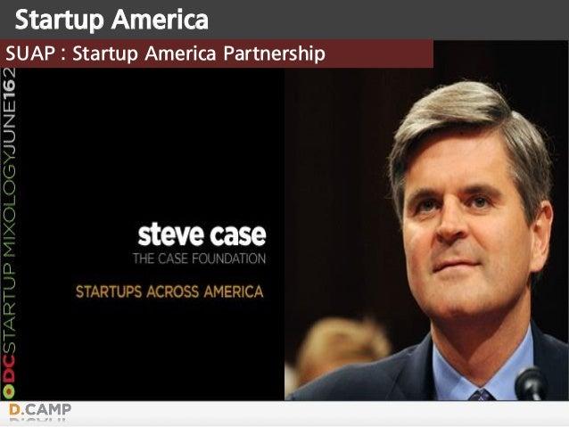 Startup America SUAP : Startup America Partnership