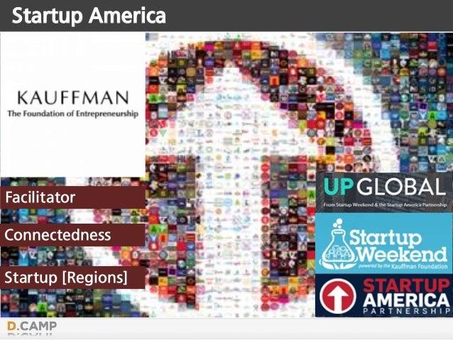 Startup America Facilitator Connectedness Startup [Regions]