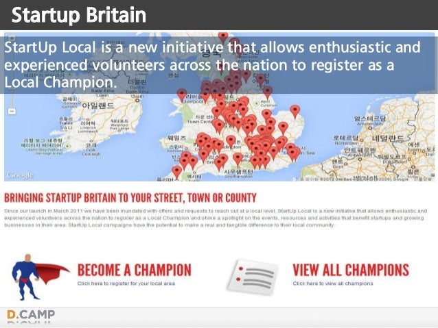 Startup Britain StartUp Local is a new initiative that allows enthusiastic and experienced volunteers across the nation to...