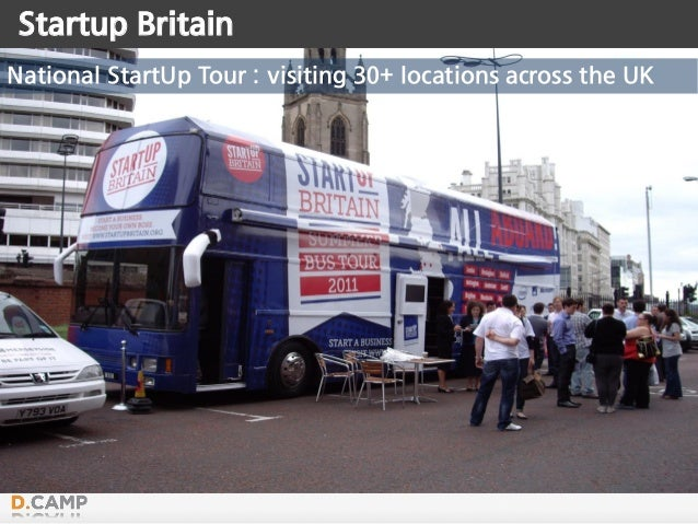 Startup Britain National StartUp Tour : visiting 30+ locations across the UK