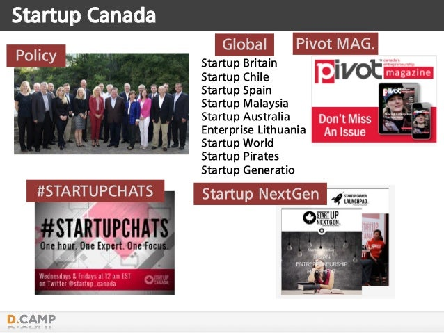 Policy Startup Canada #STARTUPCHATS Startup Britain Startup Chile Startup Spain Startup Malaysia Startup Australia Enterpr...