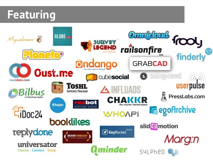 Startup Now: A Guide from the Seedcamp 2011 participants Slide 3