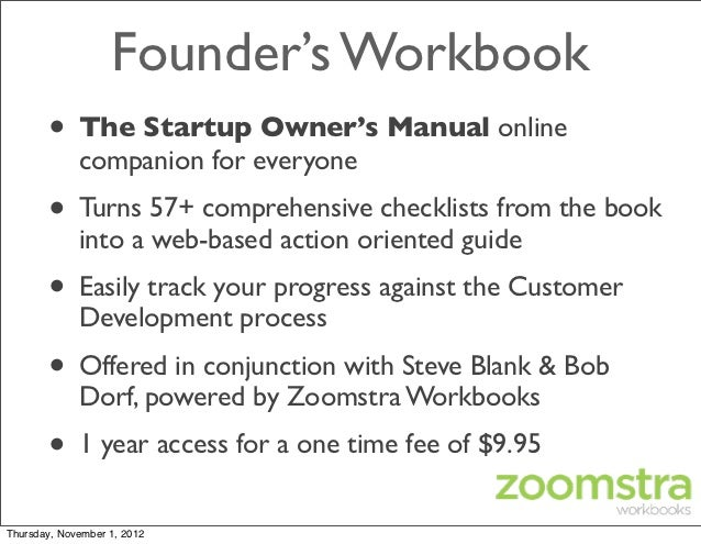 Pdf manual startup owners