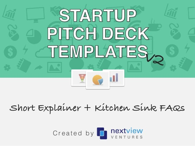 startup pitch deck template the kitchen sink appendix. Black Bedroom Furniture Sets. Home Design Ideas