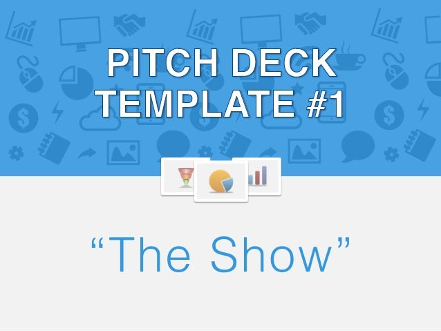 pitch deck template